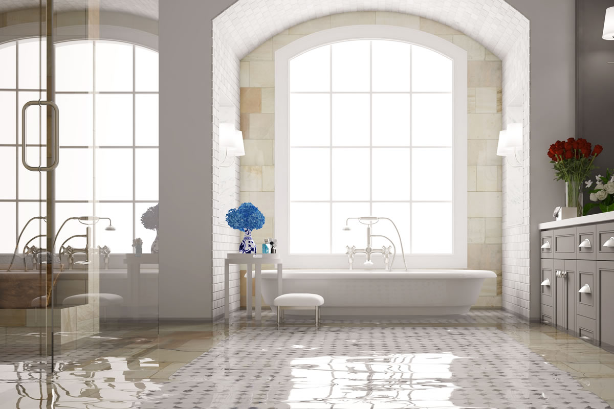 Water Damage in a Home in Ann Arbor Michigan