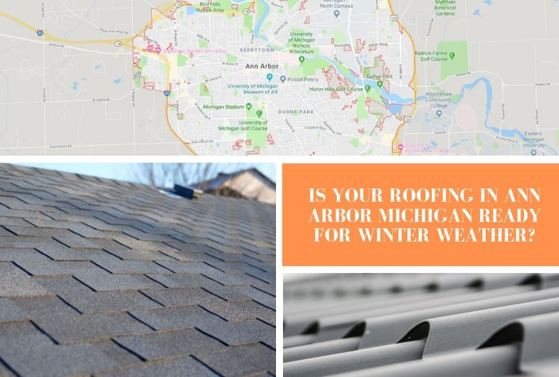 Is Your Roofing in Ann Arbor Michigan Ready for Winter Weather?